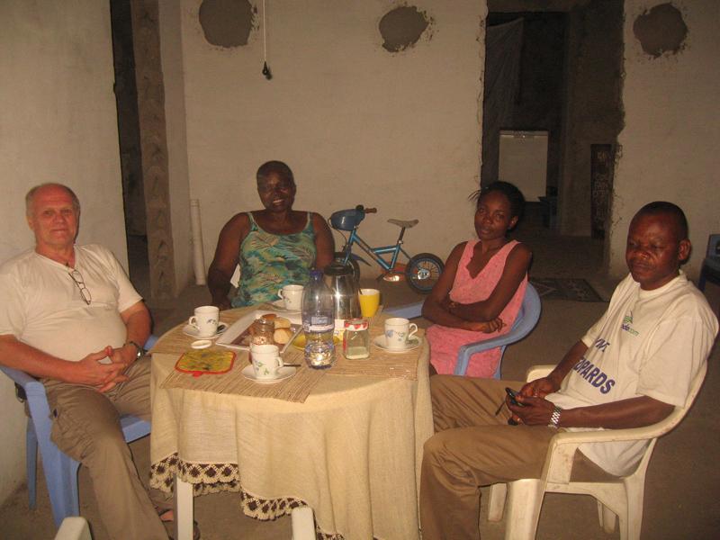 Supper at Saturday night