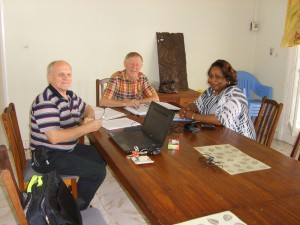 Meeting with Lili Migabo, becoming volunteer in Kinshasa