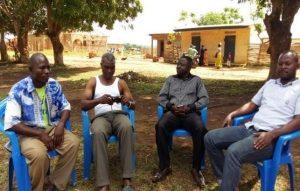 En grupp lärare samtalar med entreprenörskap utifrån modellen FBS/MSG